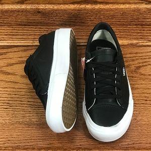 6359e4663c Vans Shoes - Vans Court DX Leather Black Shoes